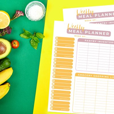 Printable Weekly Meal Planner: How To Plan Like A Boss Mom