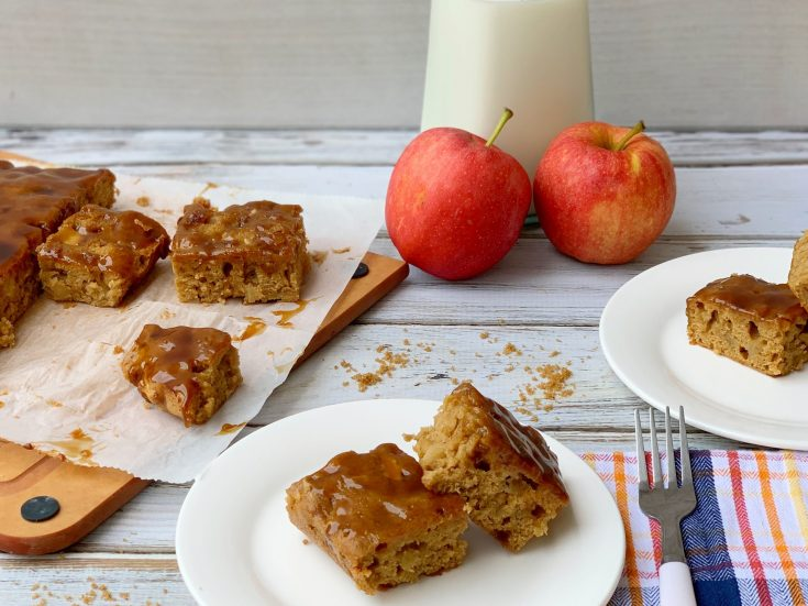 How To Make Apple Blondies From Scratch