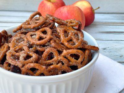 Apple Pie Spiced Pretzels Recipe