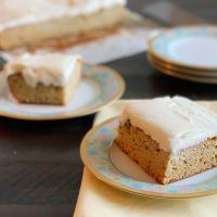 Sweet Banana Sheet Cake Recipe With Cream Cheese Frosting