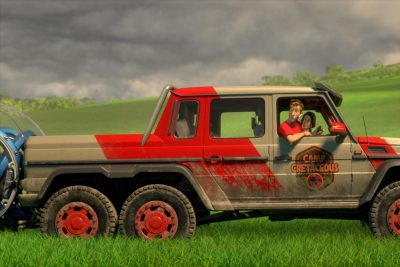Jurassic World Jeep, Netflix Jurassic World Kids Show