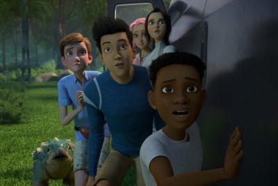Jurassic World Netflix Kids Show Characters