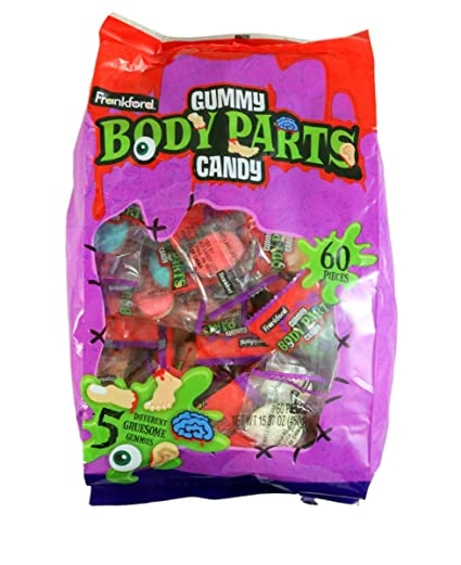 Halloween Candy Body Parts