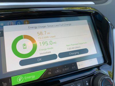 Bolt EV Battery Range, Miles In Chevy Bolt