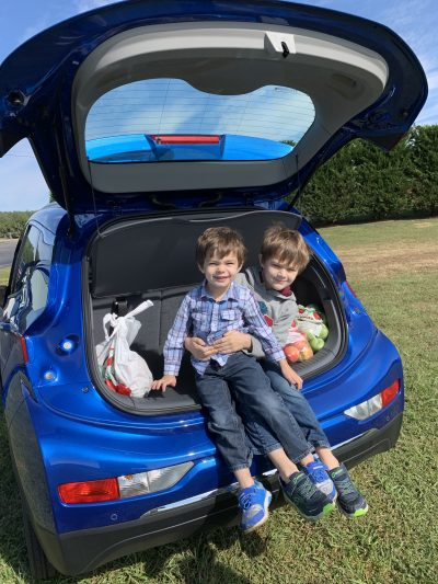 2020 Chevrolet Bolt EV Cargo Space and Hatchback