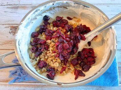 Adding Cranberries and Walnuts To White Chocolate Fudge