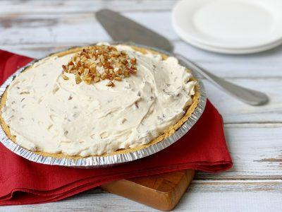 No-Bake Creamy Pecan Pie Recipe