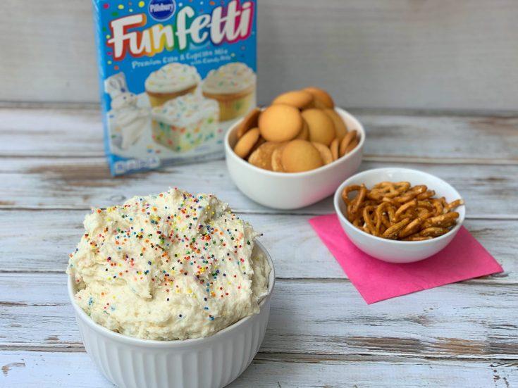 Funfetti Cake Mix Dip Recipe