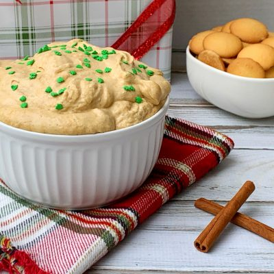 Christmastime Gingerbread Cheesecake Dip Recipe