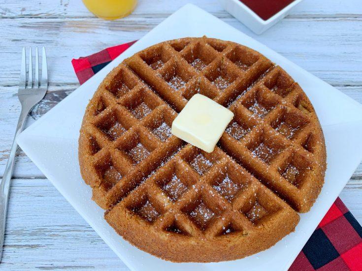 Classic Gingerbread Waffle Recipe