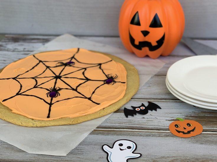 3-Step Halloween Cookie Cake Kids Dessert