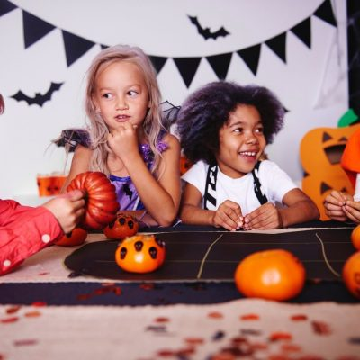 Halloween Party Games, Halloween Roll The Dice Candy Game