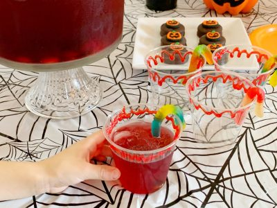 Non-alcoholic Halloween Party Punch Recipe, Blood Red Punch Recipe