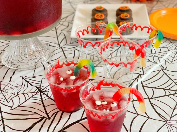 Non-Alcoholic Halloween Party Punch Recipe For Kids