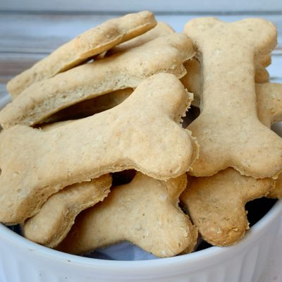 Homemade Peanut Butter Dog Bones (For Your Special Mutt)
