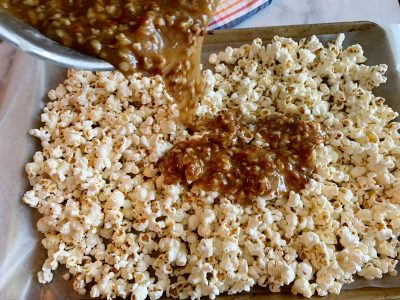 How to make maple popcorn, easy maple popcorn recipe