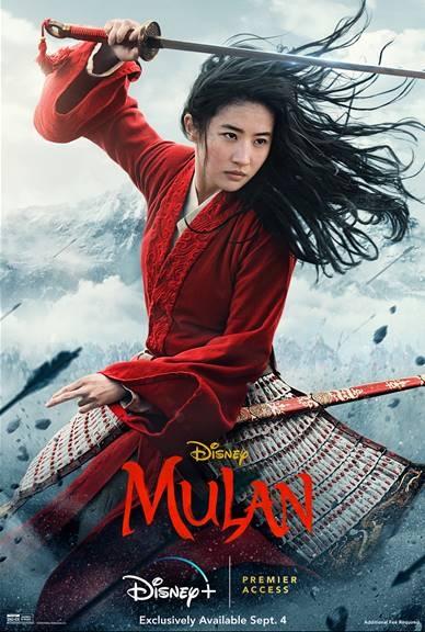 2020 Mulan Poster, Disney+ Mulan Poster
