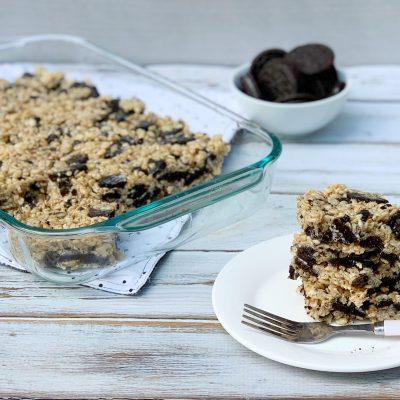 Oreo Rice Krispies Treats Recipe (So Gooey & Delicious)