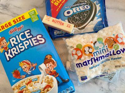 How to make Oreo Rice Krispies Treats
