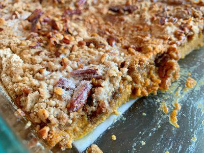 Pumpkin Dump Cake, Easy Pumpkin Cake Recipe