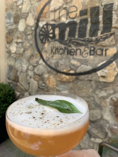 The Mill Kitchen and Bar Black Thai Cocktail