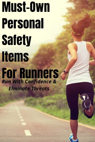Run with confidence and don't become a target. Here's 5 runner safety gear items that every runner should own + how to ensure you're not someone's next target. #Running #RunningTips #RoadRunning #Fitness #FitnessTips