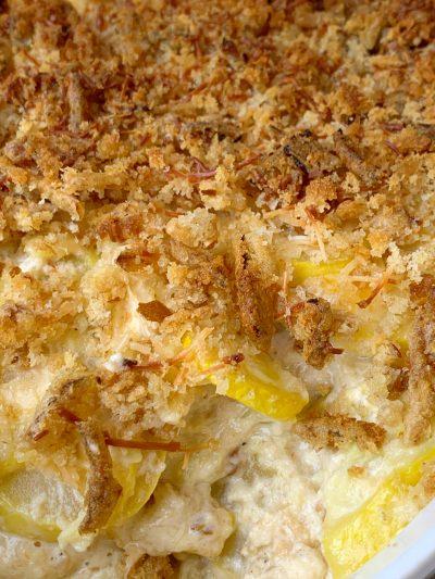 Southern Squash Casserole Recipe, Thanksgiving Squash Casserole