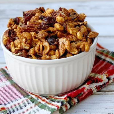BEST Spiced Mixed Nuts Recipe (With A Touch Of Sweet)