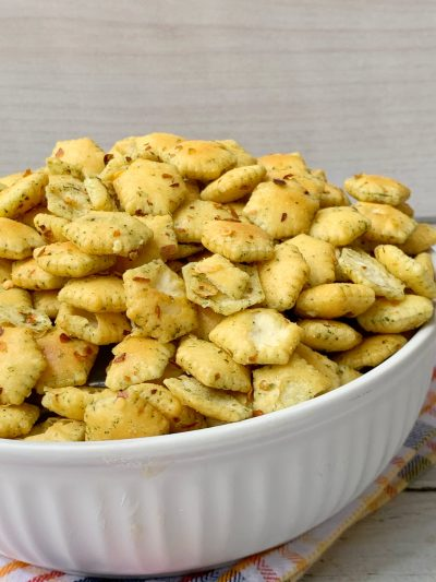 Spicy Oyster Crackers Recipe, How To Make Spicy Seasoned Crackers