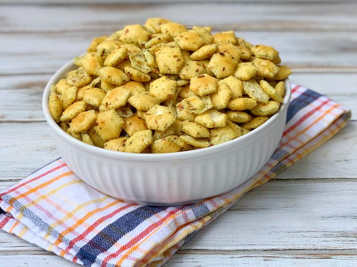 Spicy Oyster Crackers Recipe, Easy Spicy Oyster Crackers Recipe
