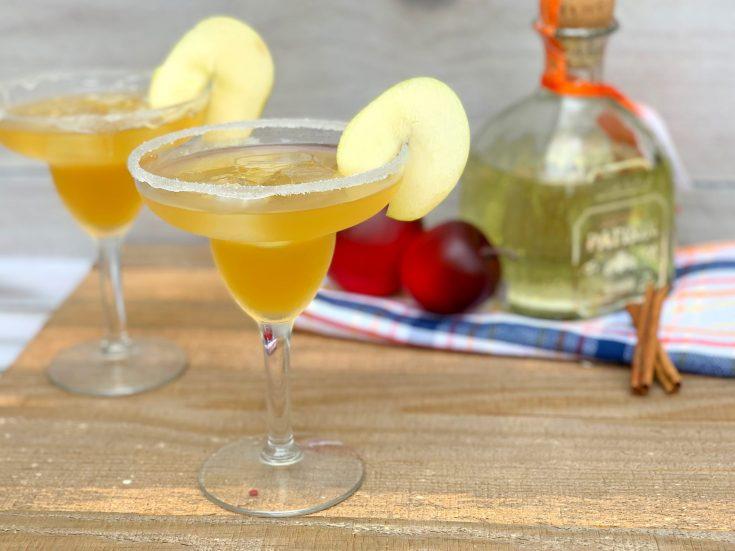 Apple Pie Margarita Recipe With Apple Cider