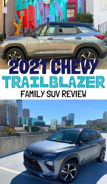 2021 Chevrolet Trailblazer Review: With a bold new design, see how this company SUV by Chevy will take your family wherever you need to go. #SUVReview #CarReview #Chevrolet