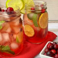 Mint Cranberry Mojito Recipe: The BEST Christmas Cocktail Ever
