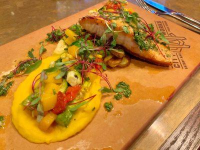 Salmon Entree, Seafood At Disney Springs