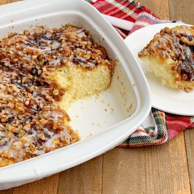 Christmas Cranberry Coffee Cake Recipe – With A Sweet Glaze