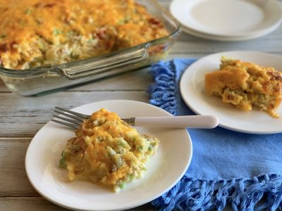 Overnight Brunch Casserole Recipe, Easy Brunch Casserole, Holiday Brunch Casserole Recipe