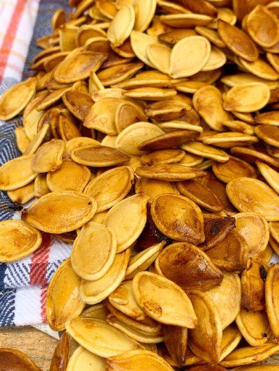 Roasted Pumpkin Seeds, How To Roast Pumpkin Seeds
