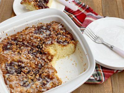 Cranberry Coffee Cake Recipe, Christmas Coffee Cake, Christmas Breakfast Casserole