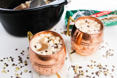 Mint Slow Cooker Hot Chocolate Recipe, Hot Cocoa, Christmas Cocoa