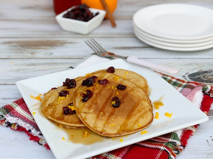 Homemade Gingerbread Pancakes Recipe