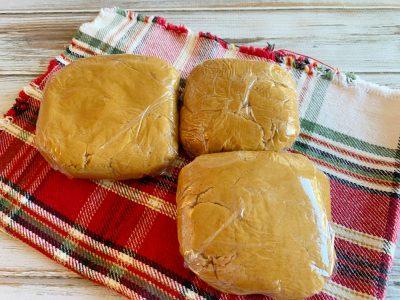 Refrigerating dough before baking