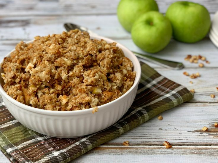 Slow Cooker Apple Sausage Stuffing Recipe For Thanksgiving