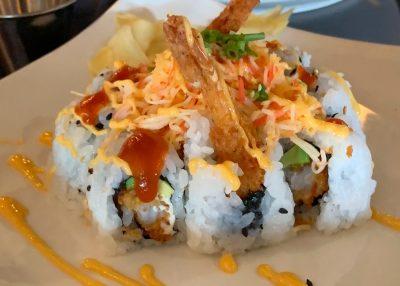 Splitsville Sushi, Volcano Roll, Sushi Entree
