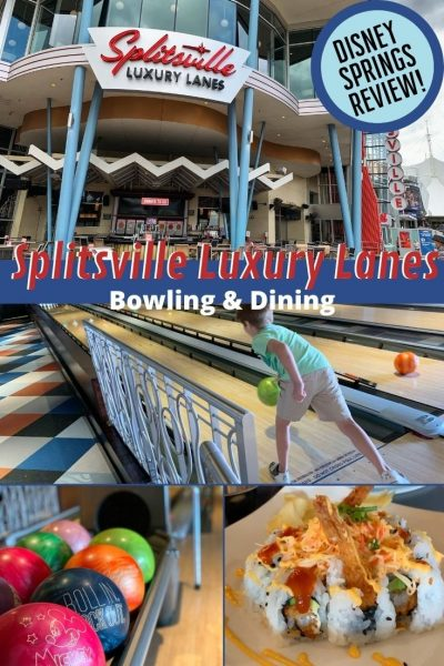 Splitsville Disney Springs Review: See why this entertainment and dining destination is family-friendly fun for all ages, PLUS the low down on the food. See if it's worth your vacation time. #DisneySprings #WaltDisneyWorld #DisneyWorldTips #DisneyPlanning