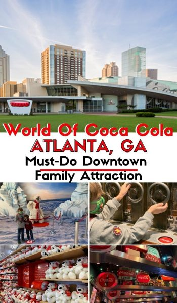Tips for visiting World of Coca Cola Atlanta with kids. #Atlanta #FamilyTravel #GeorgiaTravel #Georgia