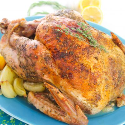 Classic Thanksgiving Whole Oven Roasted Turkey Recipe