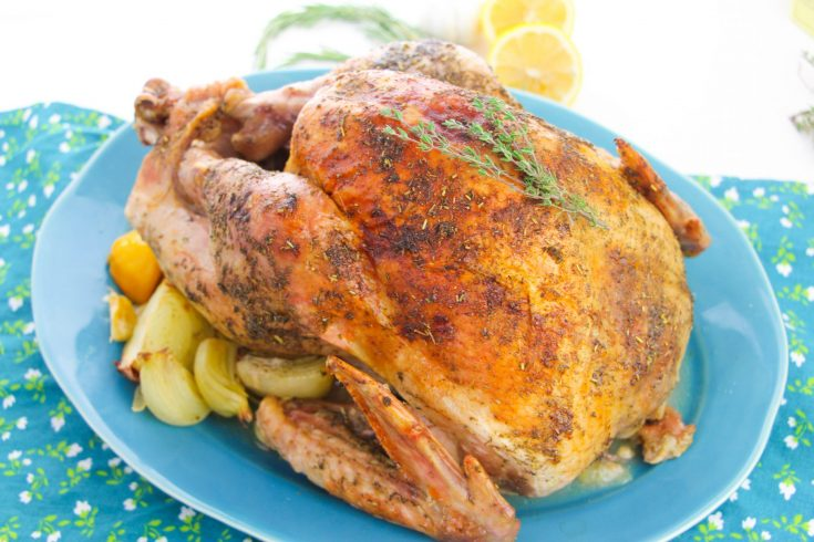 Oven Roasted Turkey Recipe For Thanksgiving