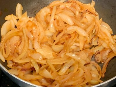 Caramelized Onions With Seasoning