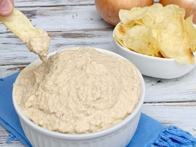 Classic Pan Fried Onion Dip Recipe