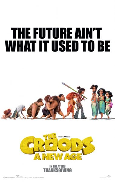 THE CROODS 2020 Movie Poster